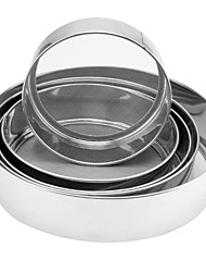 Flour Sieves Set of 6, Stainless steel