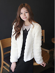 Long Sleeve Collarless Party/Casual Jacket(More Colors)