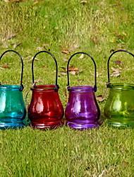 Wedding Décor Glass Lantern(More Colors)