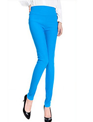 Women Solid Color Legging , Others