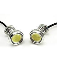 High Power Daytime Running Light 2 x LED DRL Daylight lampe de tête de voiture Eagle Eye