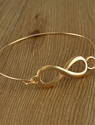 Simples Fina Bangle 8-shaped