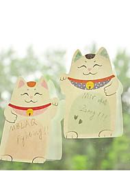 Plutus Cat Self-Stick Notes(Random Color)