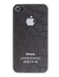 caso del cubo del agua ultrafina transparente duro de la PC para el iphone 7 7 más 6s 6 Plus SE 5s 5c 5 4 4s