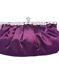 Colormoon Frauen elegante Falten Partei Clutch Bag