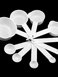 Cuillère à mesurer, Ensemble de 10 0.5g/1g/2g/4g/5g/10g/50g/70g/100g/200g