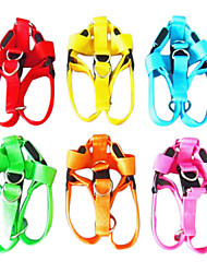 LED Safety Nylon Harness for Pets Dogs (Assorted Colors, Sizes)