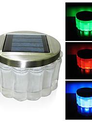 Crystal RGB Color-Changing LED Solar Powered Garden Light -Solar Table Light- Solar Small Night Light In Jar Design