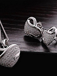 Bijoux Silver Ribbon Set