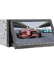"7 ""2 din tela de toque LCD DVD player do carro in-dash com bluetooth, gps, ipod-entrada, rds, rádio estéreo"