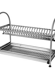 40cm Racks,Silver Stainless Steel Dish Rack