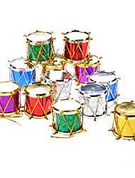 "12er Pack 3cm 1 ""Pailletten Drums Christmas Ornaments Packung"