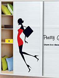 People Pretty Girl Wall Stickers