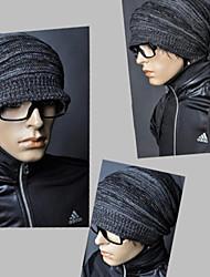 Männer drapiert knited Hut