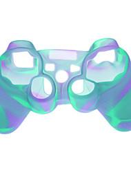 Kunststoff-Schutzhülle für PS3 Wireless Controller - Light Blue
