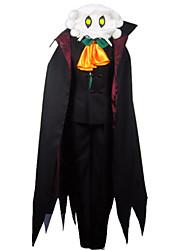 Noble Masked Earl Vampire Black Dress Men's Costume