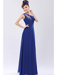 Four-Season Trees Slim One Shoulder Diamonade Party Dress(Diamond And Flower Pattern Random)