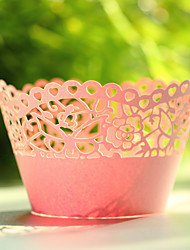 """The Sweet Spring"" Laser Cutting Cupcake Wrapper- Set of 12"