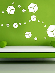 Shapes Cubes Wall Stickers