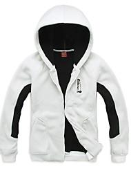 EAMKEVC Men's Multifunctional Fleece Jacket Hoodie Warm Windproof Wearable Breathability Orange, Black, White