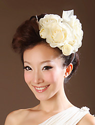 Women's Fabric Headpiece-Wedding Special Occasion Flowers