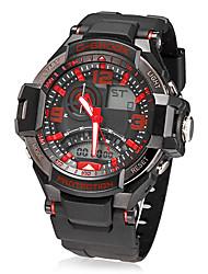 Men's Multi-Function Analog-Digital Dial Quartz LCD Wrist Watch (Assorted Colors)