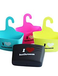 Candy Color Shower Hook Basket