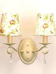 UMEI™ Wall Light, 2 Light, Rustic Iron Fabric Painting Processing