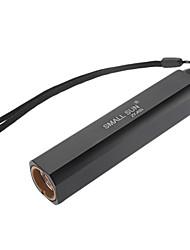 LED Flashlights Mode 200 Lumens Waterproof 18650 Camping/Hiking/Caving - SmallSun , Black Aluminum alloy