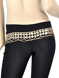 Dancewear Alloy Belly Dance Belt For Ladies(More Colors)