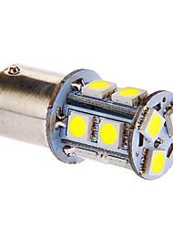 BAY15D/1157 13x5050SMD 3W 117LM 6000-7000K Cool White Light Bulb LED para carro (DC 12V)