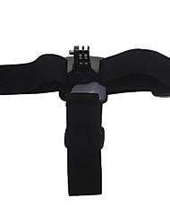ESER TDT Drei-Glue Kopfband + Side Frame Set Zubehör für Gopro 3 - Schwarz + Silber