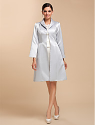 Wedding / Party/Evening / Casual Satin Coats/Jackets Wedding  Wraps