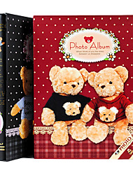 "Christmas Style Bear Paper 5""*7"" Photo Album(200 Pocket)"