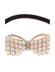 (1 St.) Süße Goldene nachgemachte Perlen-Haar-Riegel für Mädchen
