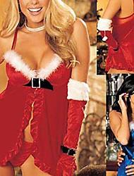 Biancheria sexy delle donne di Natale