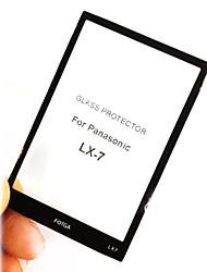 Fotga Premium LCD Screen Panel Protector Glass for Panasonic LX-7
