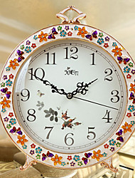 "11""Country Style Analog Tabletop Clock"