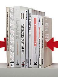 "5 ""Style moderne en métal Serre-livres"