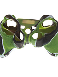 Silicone Skin Case for PS2 PS3 Controller Camouflage