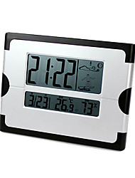 LCD Display Weather Alarm Clock