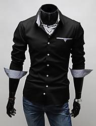 Men's T-Shirts , Cotton Blend Casual MRR