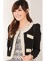 Women's Coats & Jackets , Knitwear Casual PINYOU