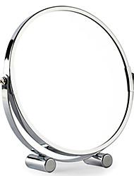 "8 ""H Brève métal de style table Mirror"