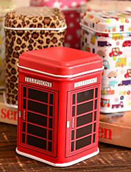 Tin Box (couleur aléatoire) Cuboid de bande dessinée Desktop Box de stockage