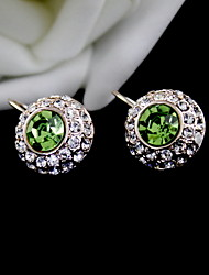 Sweet Alloy With Rhinestone Earrings (More Colors)