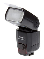 "YONGNUO YN560III 2,8 ""LCD 2,4 GHz IR Wireless 10W 5600K 1-LED Speedlite / Photoflood lampe - Svart"