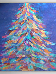 Christmas Holiday Gift Oil Painting Christmas Tree Ready to Hang