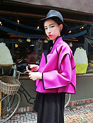 Women's Fashion Piping Coat