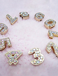 Dog Tag / DIY Supplies Rhinestone / DIY Supplies Gold Metal